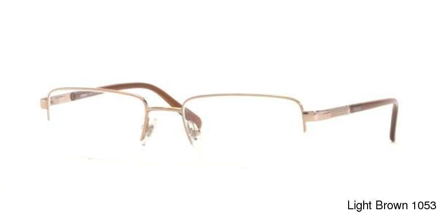 a9fc4f448b8 Versace VE1066 Semi Rimless   Half Frame Prescription Eyeglasses