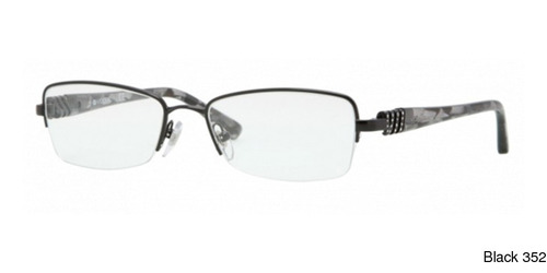 Buy Vogue VO3813B Semi Rimless / Half Frame Prescription Eyeglasses